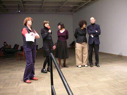 otwarcie wystawy Loulou Cherinet